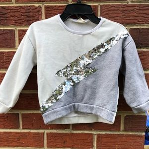 Zara Girls Sweatshirt Size 6 Years